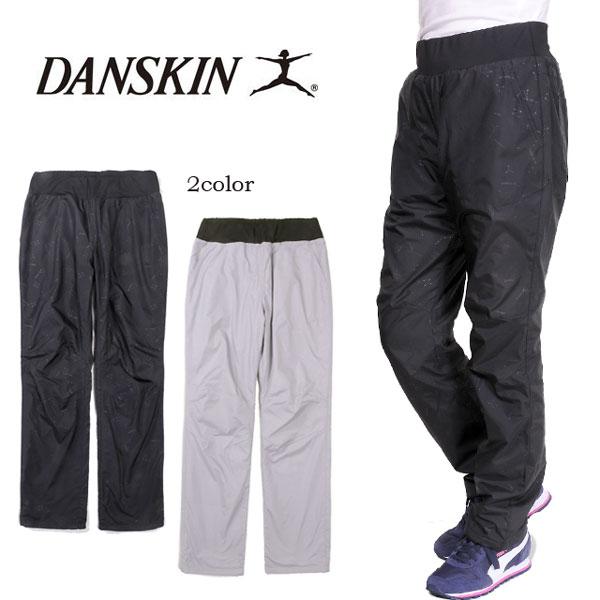 【送料無料】大きいサイズあり DANSKIN ダンスキン ロングパンツ DB45301 レディース 女性 ウォームパンツ ズボン トレーニング フィットネス ウォーキング 運動 スポーツ ウォータープルーフ 制裏地電 ブラック ミックスグレー S M L LL