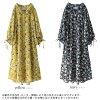 """""""n'Or floral design shirt-dress"""""""