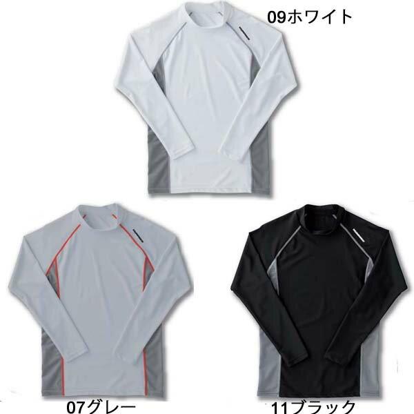『HUMMER』クールコンプレッション長袖ローネックシャツ M〜LL