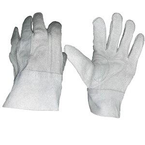 【お買得パック】牛床皮手袋背縫 12双組