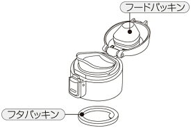 替えパッキン(ワンプッシュステンレスボトルSBK-490P用)◇