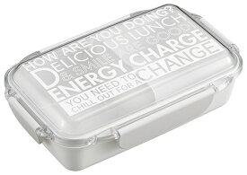 エネルギーチャージ ホワイトフタがUPで盛付けがつぶれない! おかずが盛れる!ランチボックス 仕切付弁当箱 750ml PCD-750