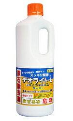 トイレ用尿石除去剤 デオライトL (手袋付) 1kg【12本入り】