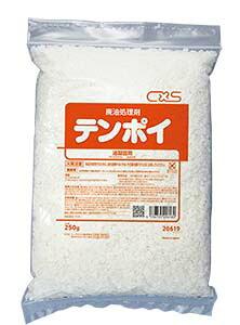 ★業務用天ぷら油固化剤 シーバイエス テンポイ 250g×4袋×16
