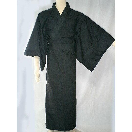 カラー着物/黒