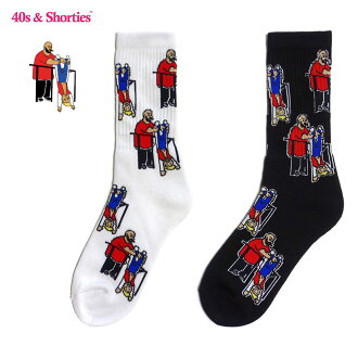 40s & Shorties (forty and show Tees) Hanging Out Socks United States Los Angeles socks brand socks brand street unisex hip-hop DEATH ROW RECORDS