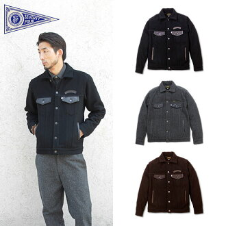SEVENTY FOUR (seventy-four) WOOL TRUCKER JACKET