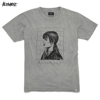 ALTAMONT(arutamonto)CHELSEA T恤RINGS麵包染色光頭女孩子BAKER SKATEBOARDS HEROIN SKATEBOADS服飾名牌街道服裝