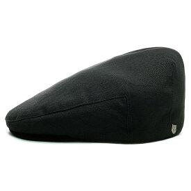 BRIXTON (ブリクストン) HOOLIGAN SNAP CAP - BLACK ハンチング ハンチング帽 ハンチング帽子 メンズ 春夏 秋冬 コットン 黒 58cm 60cm 62cm 大きいサイズ 【送料無料】 【あす楽対応】