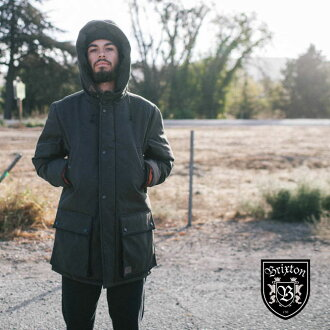 BRIXTON (Brixton) SENTRY JACKET (Black) [padded Jacket Hoodie jackets winter fleece outdoor]