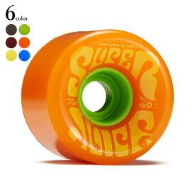 4/30(金) 再入荷! OJ Wheels (オージェイ ウィール) Super Juice 60mm 78a スケートボード スケボー ソフトウィール クルーザーウィール クルーザー クルージング ウィール ウイール スーパージュース ホットジュース 【送料無料】 【あす楽対応】