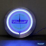 【送料無料】RADIALL(ラディアル)FLAGS-NEONCLOCKネオンクロックネオンサインネオン管時計壁掛けおしゃれ【あす楽対応】