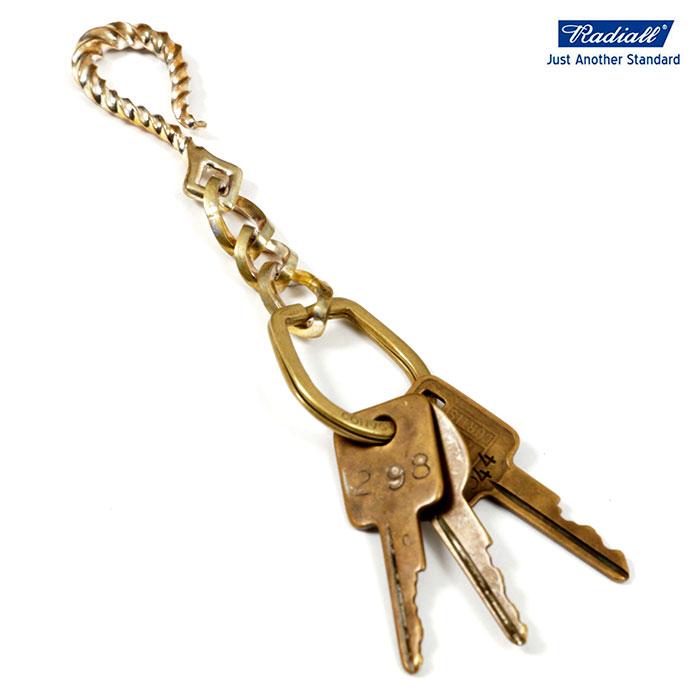 【送料無料 / 代引料込】 RADIALL (ラディアル) ANCHOR - KEY CHAIN HOLDER Brass キーチェーン ブランド メンズ 真鍮 【あす楽対応】