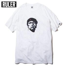 【メール送料無料】 RULER (ルーラー) CHE MONTANA TEE Tシャツ ストリート ブランド メンズ 綿100% 半袖 白/赤/グレー M-XXL