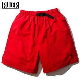 【送料無料】 RULER (ルーラー) DD ATHLETIC SHORTS ショーツ メンズ 春夏用 マイクロファイバー 水陸両用 赤/ベージュ/黒 S-XL
