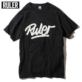 【メール便送料無料】 RULER (ルーラー) OTV TEE Tシャツ メンズ 半袖 綿100% 白/青/黒 M-XXL