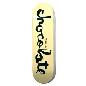 Chocolate (チョコレート) Cruz Original Chunk Deck 8.1875in x 31.5in スケートボード スケボー デッキ チョコレート ブランド 板 8.1875インチ G028 ヨニー・クルーズ 【送料無料 / デッキテープ無料】 【あす楽対応】