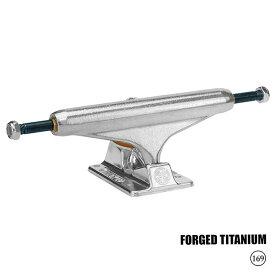 5/13(水) 再入荷! INDEPENDENT TRUCKS (インディペンデント) STAGE 11 FORGED TITANIUM SILVER STANDARD (HI) 169 スケートボード スケボー トラック 【送料無料】 【あす楽対応】