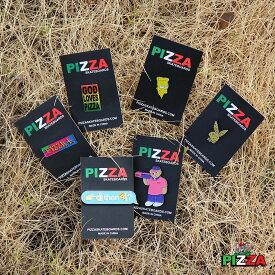 【メール便送料無料】 PIZZA SKATEBOARDS (ピザ) ENAMEL PINS ピザ スケートボード ピンズ ピンバッジ ピンバッチ ピンバッヂ 【あす楽対応】