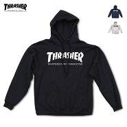 【送料無料】THRASHER(スラッシャー)SkateMagHoodスケボーブランドパーカーメンズスウェット裏起毛プルオーバー黒/ネイビー/グレーS-L【あす楽対応】