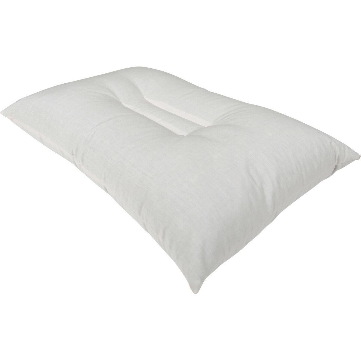 そば殻枕 35x50cm 日本製 / 肩こり いびき 首 寝返り おしゃれ 無地 かため 中身 おすすめ 安眠 快眠