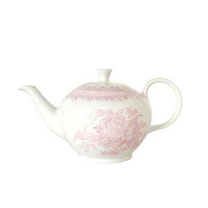 バーレイ 英国食器 Burleigh ピンクアジアティックフェザンツ ティーポット S 450ml 花柄/おしゃれ/陶器/おすすめ/かわいい