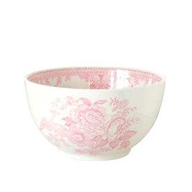 バーレイ 英国食器 Burleigh ピンクアジアティックフェザンツ シュガーボウル 大 花柄/カフェオレボウル/おしゃれ/かわいい/おすすめ