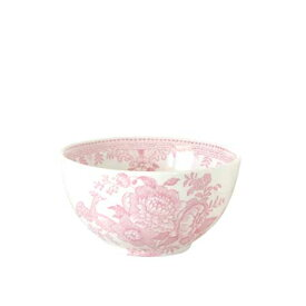 *バーレイ 英国食器 Burleigh ピンクアジアティックフェザンツ シュガーボウル 小 花柄/カフェオレボウル/おしゃれ/かわいい/おすすめ