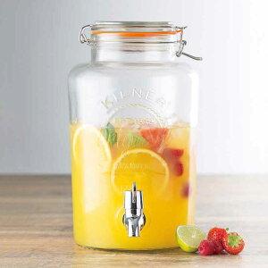 KILNER(キルナー) ディスペンサー 5L ジュースディスペンサー/健康管理/レモン水/パーティ/Kilner 5 Liter Drinks Dispenser