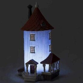 ムーミン屋敷 インテリアライトフィギュアセット(LEDライト付き) インテリア/北欧雑貨/人形/Moomin/間接照明