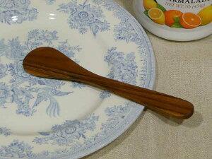 ChaBatree(チャバツリー) オーバルジャムスプレッダー(バターナイフ) 木製カトラリー/職人/手作り/ハンドメイド/こだわり