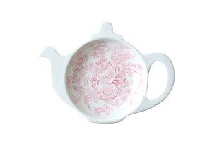 バーレイ 英国食器 Burleigh ピンクアジアティックフェザンツ ティーポットトレイ ギフトBOXなし イギリス/ティーバッグトレー/紅茶