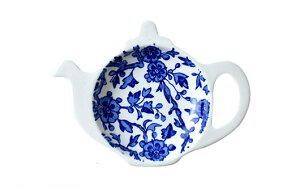 バーレイ 英国食器 Burleigh ブルーアーデン ティーポットトレイ ギフトBOXなし イギリス/ティーバッグトレー/紅茶