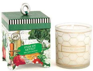 *ミッシェルデザインワークス アロマキャンドル フロムマイガーデン(香り:キューカンバーメロン)  ギフト/癒し/香り/贈り物/