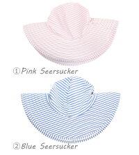 ラッフルバッツRuffleButts帽子つば広【6か月〜10才】ベビー&キッズ水着と同素材のツバ広帽子UPF50+UVカット紫外線防止にサンハット女の子リバーシブルも10P09Jan16