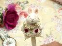 ラルイス るいす LA LUICE 不思議の国のアリス ボールペン トランプウサギ ぬいぐるみ マスコットペン ラッピング プレゼント かわいい