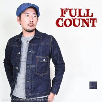 FULL COUNT (카운트) 데님 재킷 1st 타이트 2737W