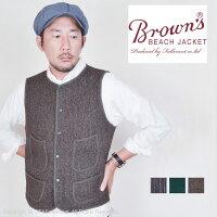 ブラウンズビーチジャケット(BROWN'SBEACHJACKET)アーリーベストBBJ8-001