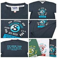 フェローズ(Pherrow's)TシャツPT18STARARROWTOURS