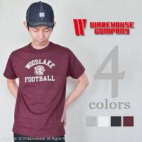 ウエアハウス(WAREHOUSE)Tシャツ4601WOODLAKE