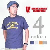 ウエアハウス(WAREHOUSE)Tシャツ4601WESTCHESTER