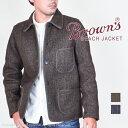 ブラウンズビーチジャケット(BROWN'S BEACH JACKET)ワークジャケット BBJ9-003