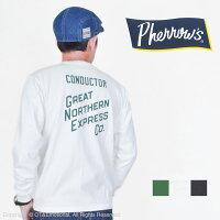 フェローズ(Pherrow's)ロングスリーブTシャツPLT2