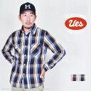 ウエス(UES)先染めヘビーネルシャツ 501852