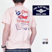 フラットヘッド(TheFlatHead)TシャツFLATHEADRADIOTHC-221