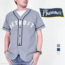 フェローズ(Pherrow's)半袖ベースボールシャツ PBBS1
