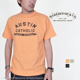 ウエアハウス(WAREHOUSE)Tシャツ 4601 AUSTIN