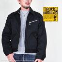 トロフィークロージング(TROPHY CLOTHING)ワークジャケット CovertPique91B TR19AW-504