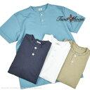 トゥームーン(TwoMoon)ヘンリーネックTシャツ 24223