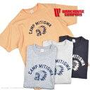 ウエアハウス(WAREHOUSE)Tシャツ 4601 CAMP MITIGWA